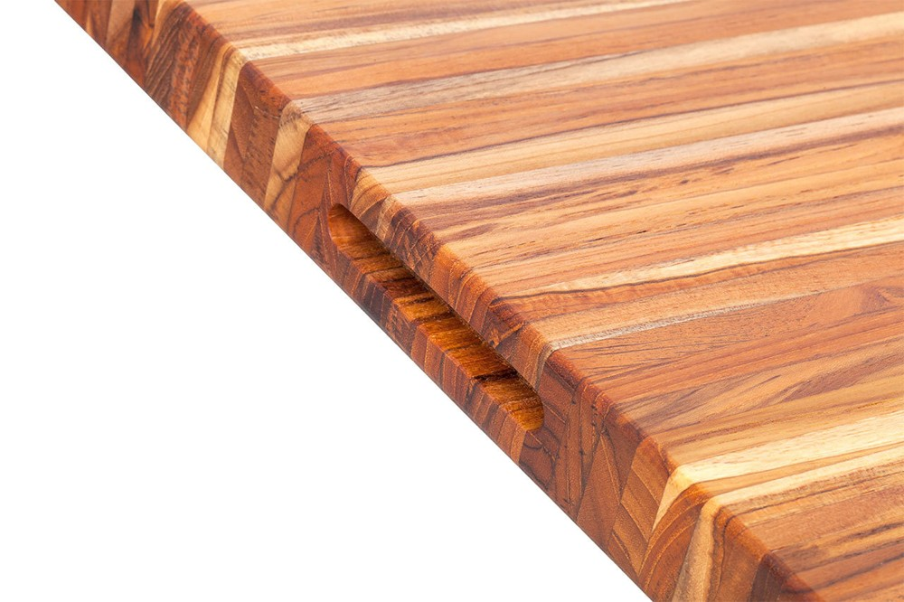 Proteak Large, Edge-Grain Teak Cutting Board – 24