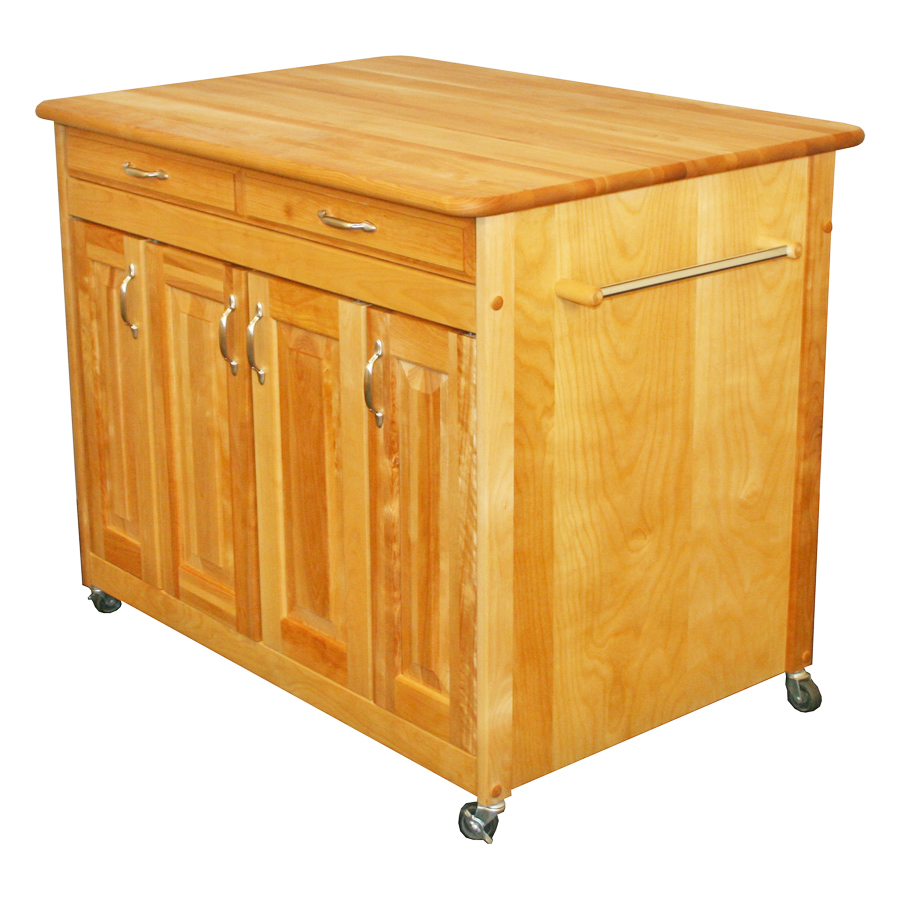 Catskill Work Center Plus Kitchen Island Cart