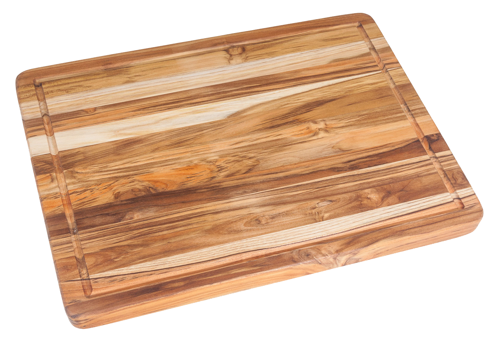 Proteak Large Teak Carving Board with Juice Groove – 24