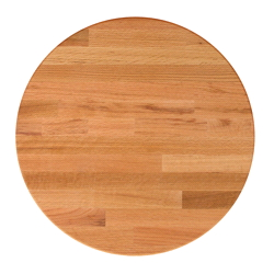 John Boos Round Blended Oak Dining Table Tops & Bases
