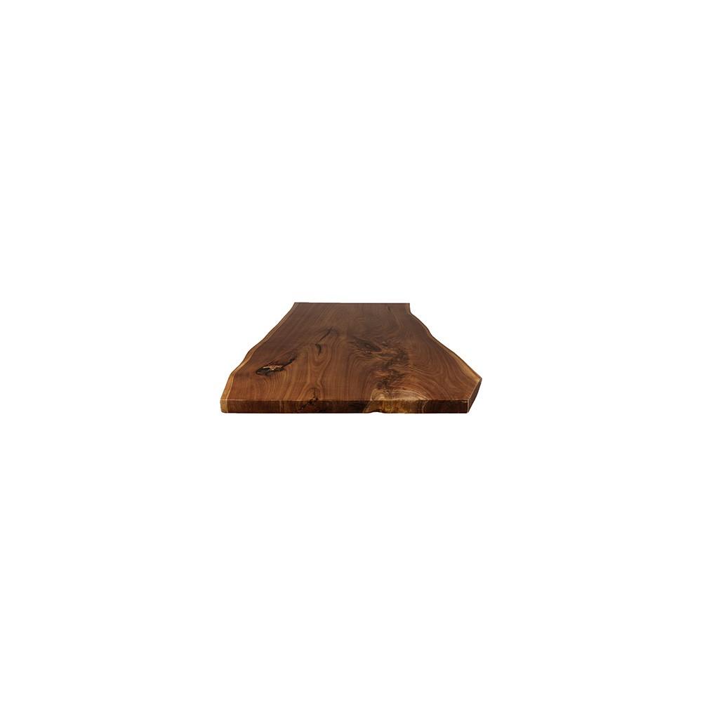 Walnut Live Edge Table Top #69 - 60