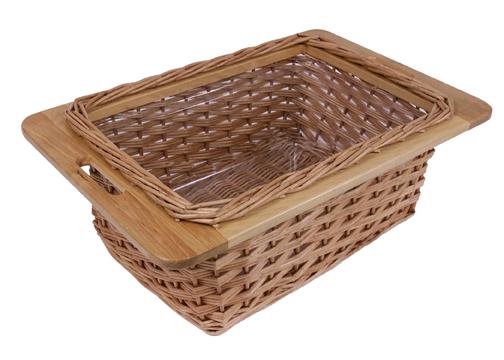 John Boos Wide Wicker Basket Drawer ~ 14
